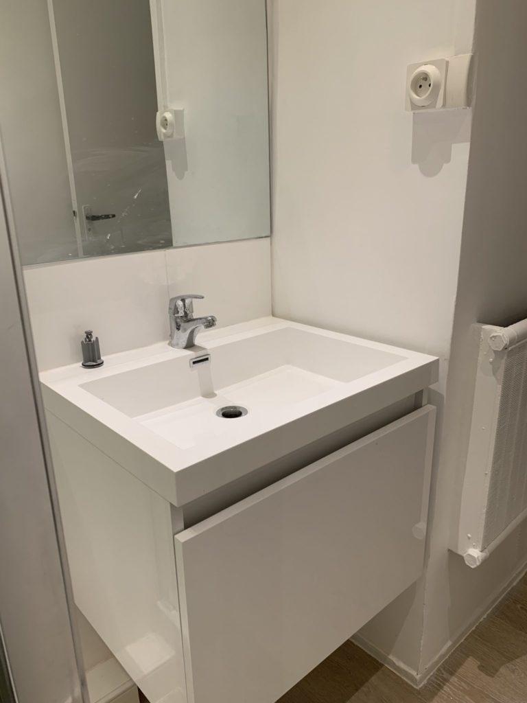 Salle de bain après la rénovation