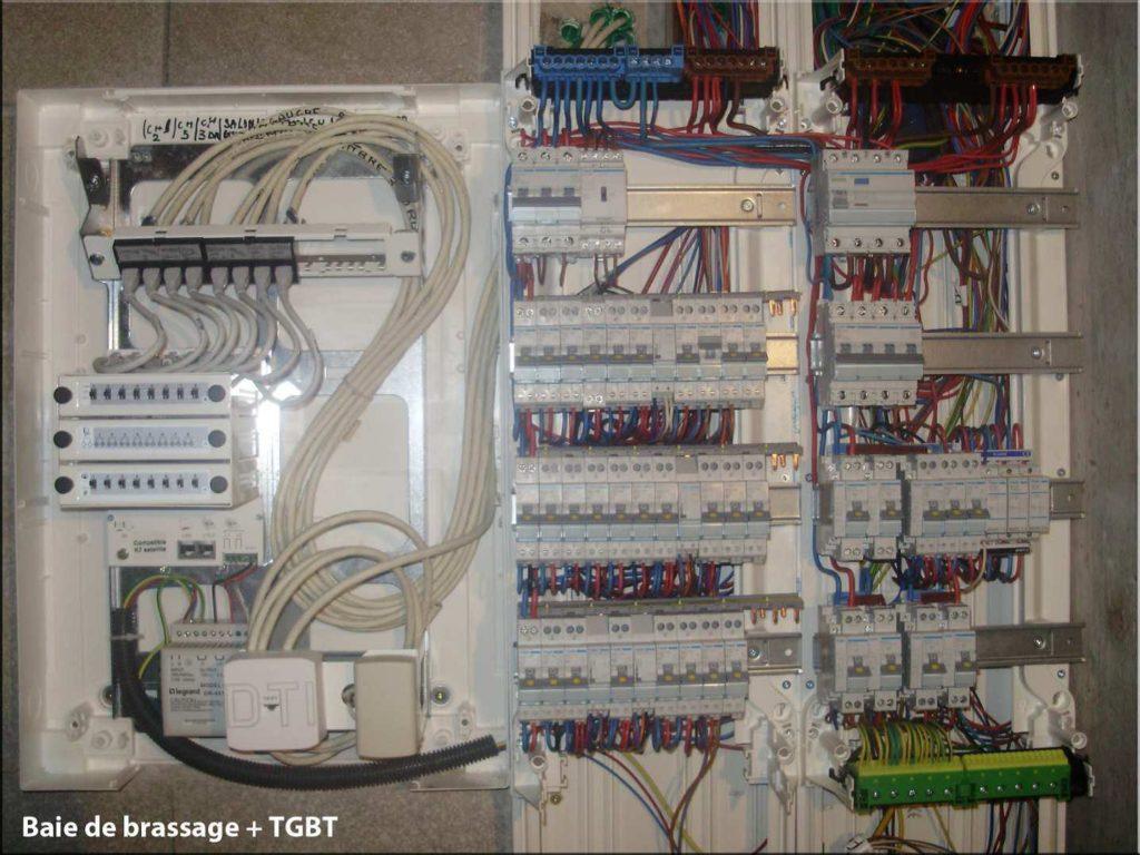 Installation et mise aux normes baies de brassage et TGBT