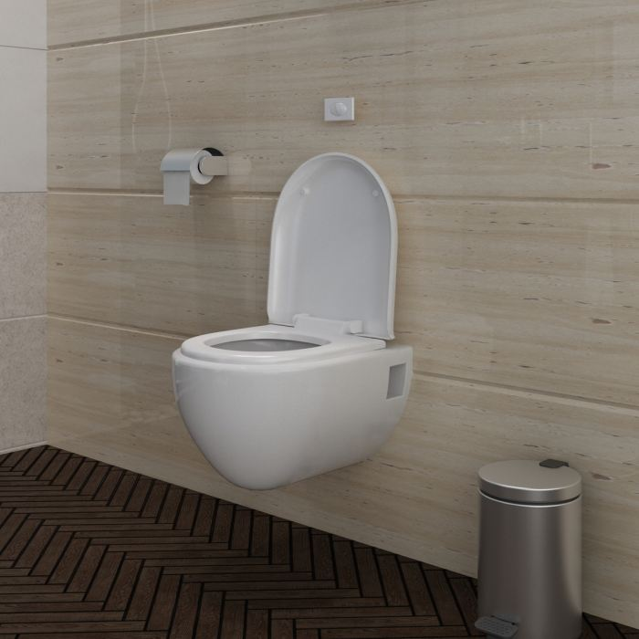 Pose de WC suspendu par plombier Marseille 13008