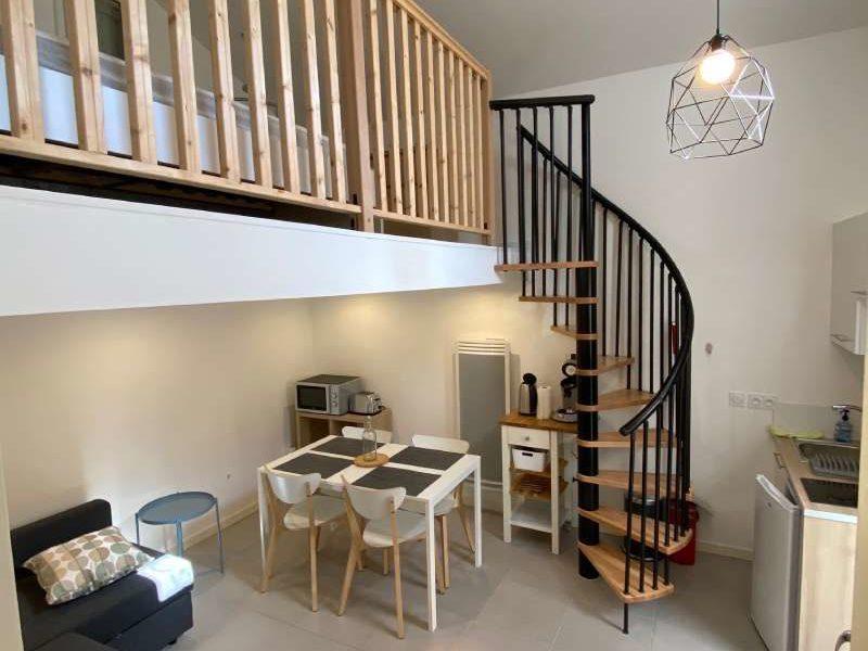rénovation duplex aix en provence escalier colimaçon